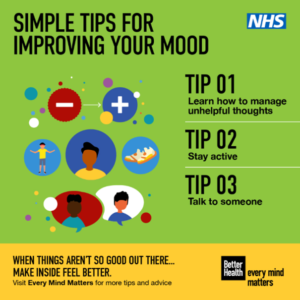 Image of Simple Tips for Improving your mood